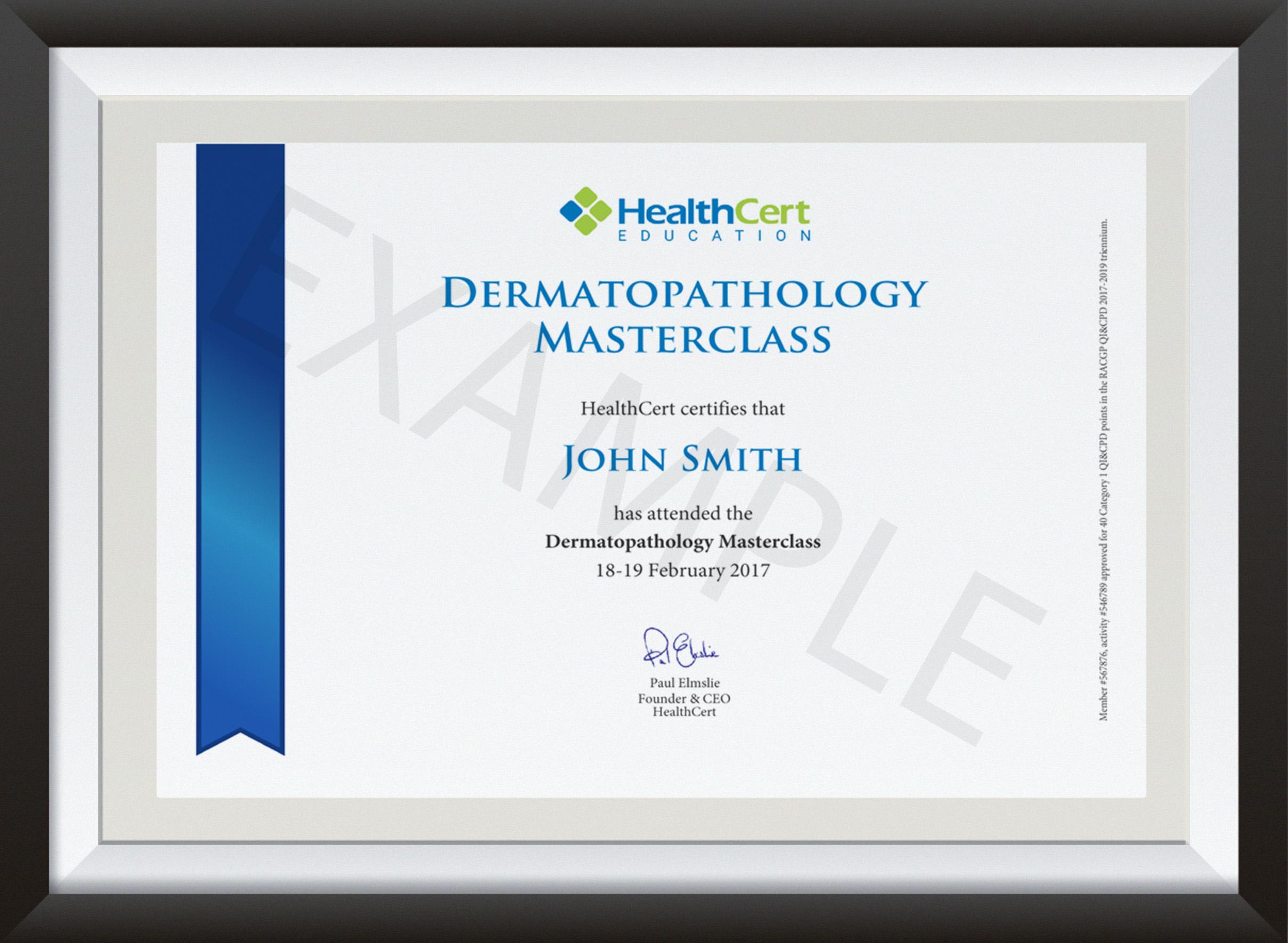PCPAT certificate