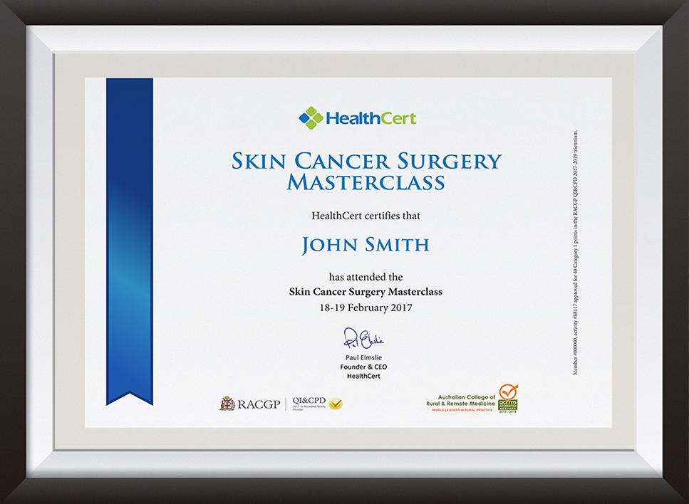 SPMCL certificate