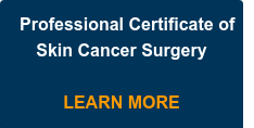Professional Certificate of Skin Cancer Surgery