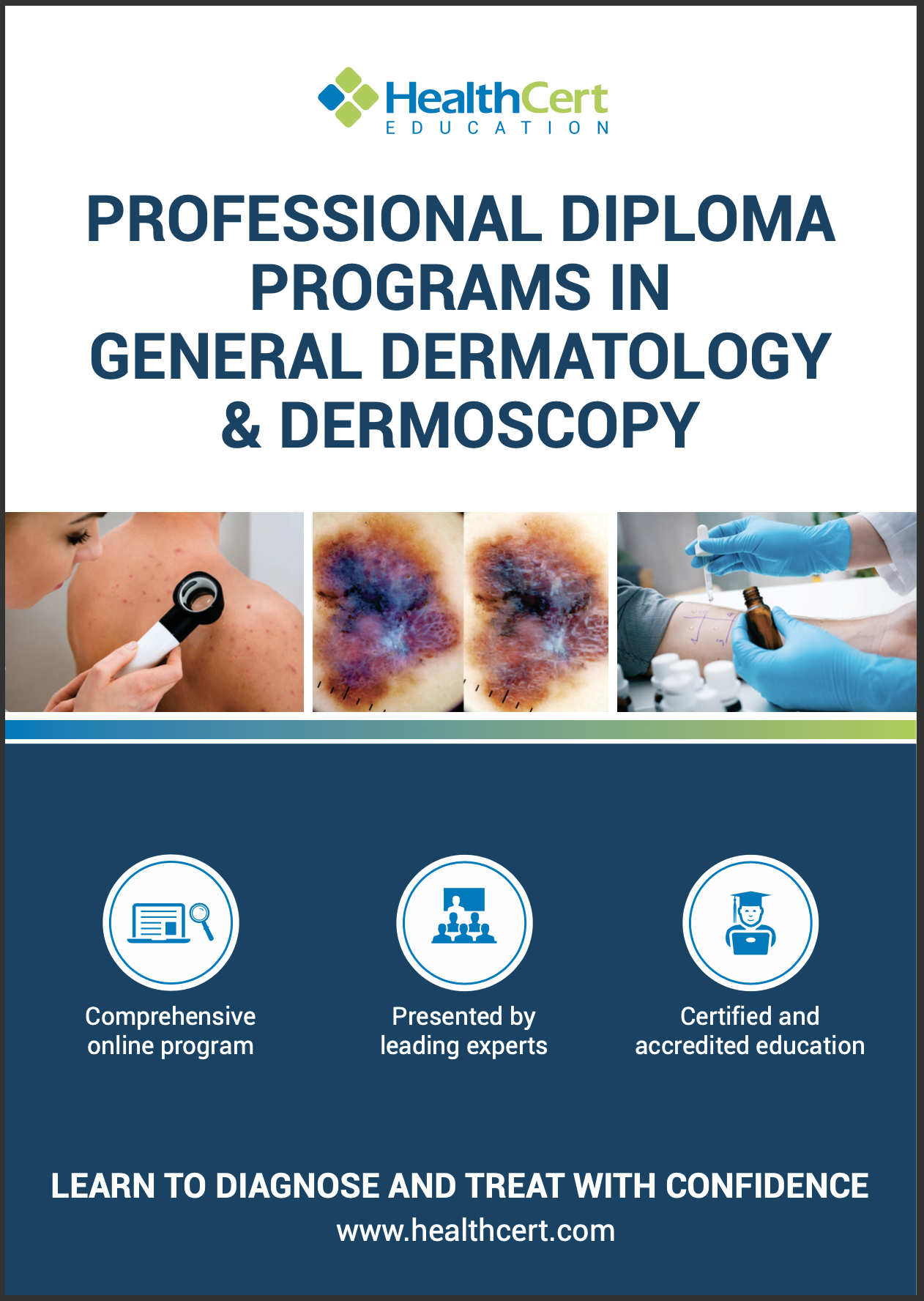 Dermatology Dermoscopy brochure